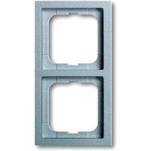 Busch-Jaeger Abdeckrahmen future 2-fach Linear Aluminium matt