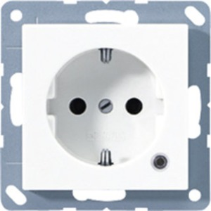 Jung SCHUKO-Steckdose 16A250V~ Berührungsschutz Funktionsanzeige