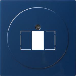 Abdeckung TAE+Stereo+USB für S-Color blau