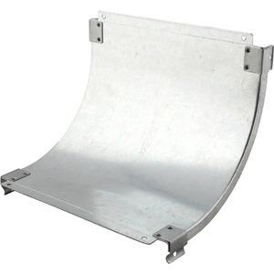 Deckel für Steigestück 90° P31 sendzimirverzinkt 400 mm