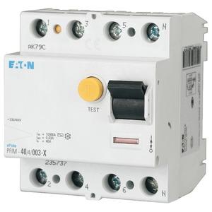 Eaton Fehlerstromschutzschalter 4p 63A 100mA Typ S/A PFIM-63/4/0,1-XS/A