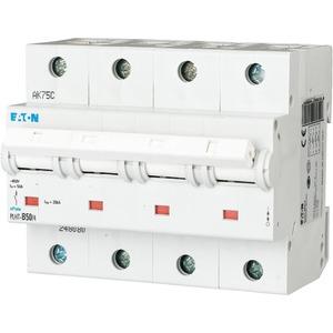 Eaton Leitungsschutzschalter 50A 4-polig D-Char