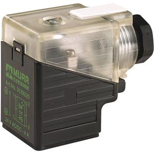 Ventilstecker MSVS BF A 18 mm 0-230V M16 x 1,5 selbstanschließbar