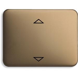 Bedienelement für Jalousie-Einsatz Bronze matt