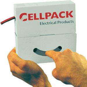 Cellpack Schrumpfschlauch Abrollbox 2,4 bis 1,2mm / L 15m schwarz