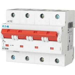 Eaton Leitungsschutzschalter 100A 4-polig D-Char