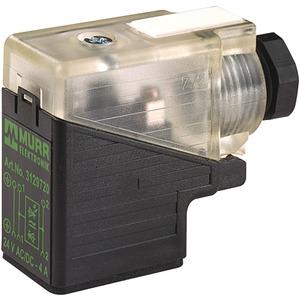 Murrelektronik SVS VentilStecker BF BI 11mm selbstanschl. Schraubkl. 24V LED+Z-Diode