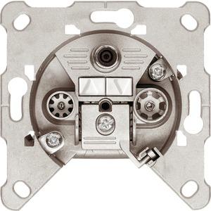 Antennen Steckdose 3-fach Durchgangsdose SAT/BK