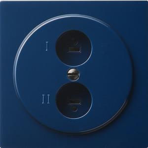 Stereo-Lautsprecher Steckdose für S-Color blau