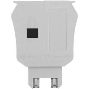 Sicherungshalter mit Steckanschluss 35-70V dunkelbeige