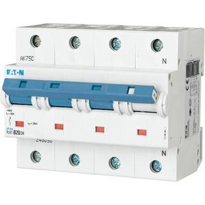 Eaton Leitungsschutzschalter 20A 3+N--po C-Char