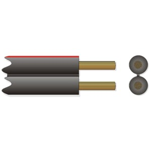 Lautsprecherkabel mechanisch markiert LSPM 2x0,75 braun