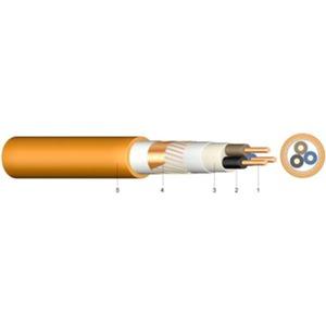 Halogenfreies Kabel E30/FE180 konzentr. Leiter (N)HXCH 4x1,5/1,5 RE