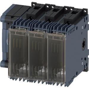 Lasttrennschalter mit Sicherung 80A BG 1 - 3p für NH-Sich. Gr. 000
