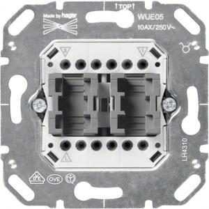 Wippschalter-Einsatz Serienschalter 10 AX 250 V AC