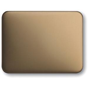 Wippe alpha für Aus Wechsel Kreuz Taster Bronze