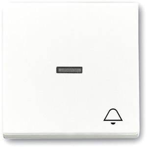 Wippe für Unterputz Taster Symbol Klingel studioweiß glänzend