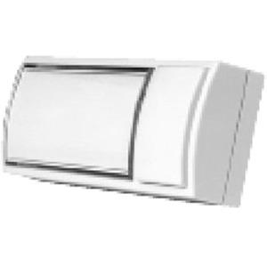 Grothe Montilux 2154 Klingeltaster mit Namensschild 32x90x18,5 mm weiß