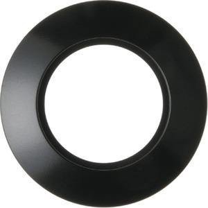 Abdeckrahmen 1-fach Serie 1930 - schwarz/ glänzend