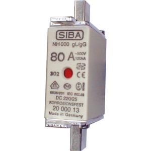 NH-Sicherung gG Gr.000 Typ NH00 80A Kombimelder