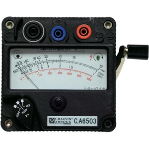 C.A 6503 Isolationsmesser 1000 V Kurbelinduktor