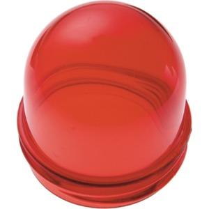 Haube für Lichtsignal E14 Zubehör rot transparent