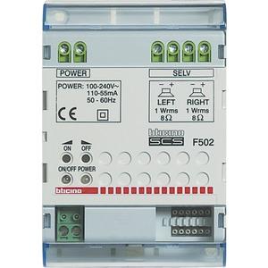 Stereo-Reiheneinbauverstärker Leistung16W an 8Ohm Stromversorgung