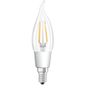 LED Kerzenlampe PARATHOM CL BA40 adv. 4,5W 827 E14 470lm GLOWdim klar