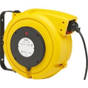 Zuleitungsroller m. Überhitzungsschutz m. SCHUKO-Kupplung 16A 230V 3x1,5mm²
