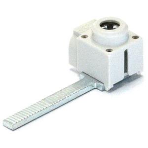 Einspeiseklemme 1-pol. Steg 25mm² isoliert Zuführung quer
