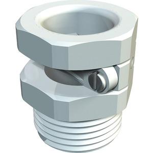 Druckschraube mit Zugentlastung PG11 PA lichtgrau RAL 7035