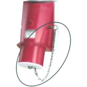 Mennekes Verschlussstopfen für Wandgerätestecker 16A 3-polig