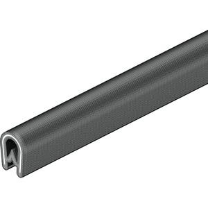 KSB/2-F Kantenschutzband für Bleche PVC schwarz 0,75-2mm 10m Rolle