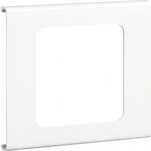 Geräteblende 1-fach FB 60110 cremeweiß