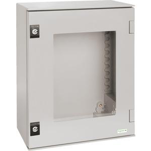 Wandschrank Gehäuse: ABS/PC 847x636x300mm ohne Montageplatte RAL7035