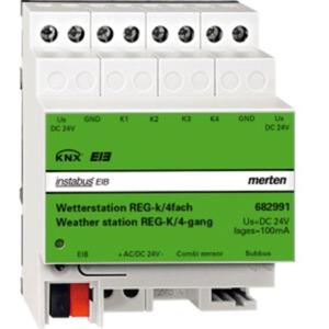 Merten Wetterstation REG-K/4-fach lichtgrau