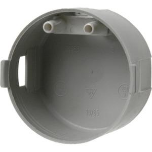 Berührungsschutzdose flach Ø 45 mm Integro / grau