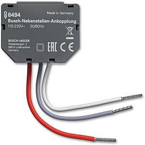 Busch-Nebenstellen-Ankopplung 110-230V 2 Eingänge IP20 33x45x8,5mm