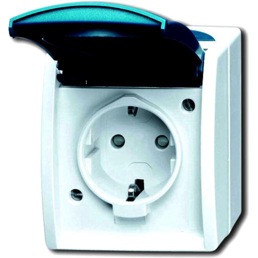 Faviye 20Pcs Power Outlets Deckel Cache Sicherheit Steckdosenschutz f/ür die Sicherheit von Kindern