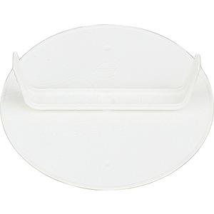 Abzweigdosendeckel rund weiß