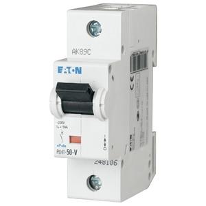 Eaton Leitungsschutzschalter 50A 1-polig C-Char