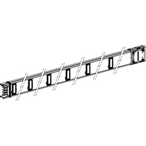 Gerades Verteilerstreckenstück 3m 160A / 12 Abgangsstellen