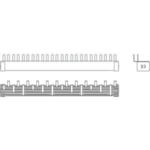 Phasenschiene 12xLS-1N(Schmalbau 1TE) = 12TE