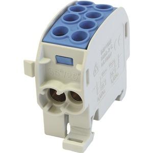 Hauptleitungsklemme BGV A2 Typ C 1000V AC/DC ZK 35/1 1polig 4 CU 080210-1-4 blau
