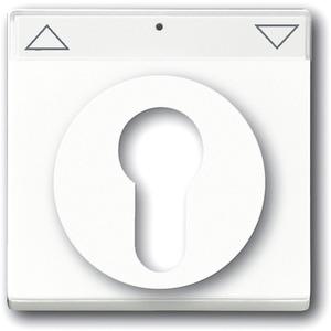 Abdeckung für Schlüsselschalter u. Jalousieschalter/-taster studioweiß