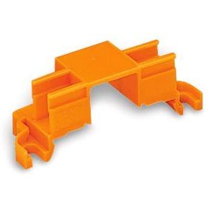 Befestigungsadapter für 4 Steckplätze orange