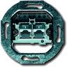Unterputz Einsatz UAE-Anschlussdose 2-fach Kat. 3
