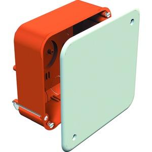 Verbindungskasten Hohlwand 105 x 105 x 50 PP orange