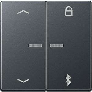 Timer Universal Bluetooth Symbole Pfeile bruchsicher Thermoplast anthrazit matt