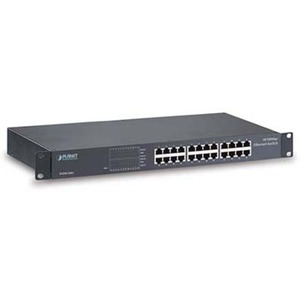 Gigabit Switch GSW-2401 mit 24 Ports 10/100/1000 Base-T (RJ45)